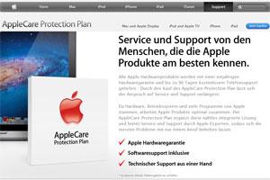 Apple wegen irreführender Garantie abgemahnt